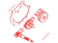 TRANSMISSION MAINTENANCE SET  SUPER 8 50 4T EURO II 50 kymco-motorcycle SUPER SUPER 8 50 4T EURO II 2