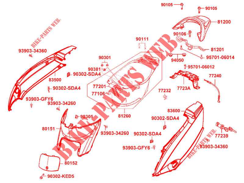 kymco vitality 50 scooter service manual