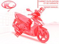 OWNER'S MANUAL AGILITY CITY 125 16x 4T EURO III 125 kymco-motorcycle AGILITY AGILITY CITY 125 16x 4T EURO III 0