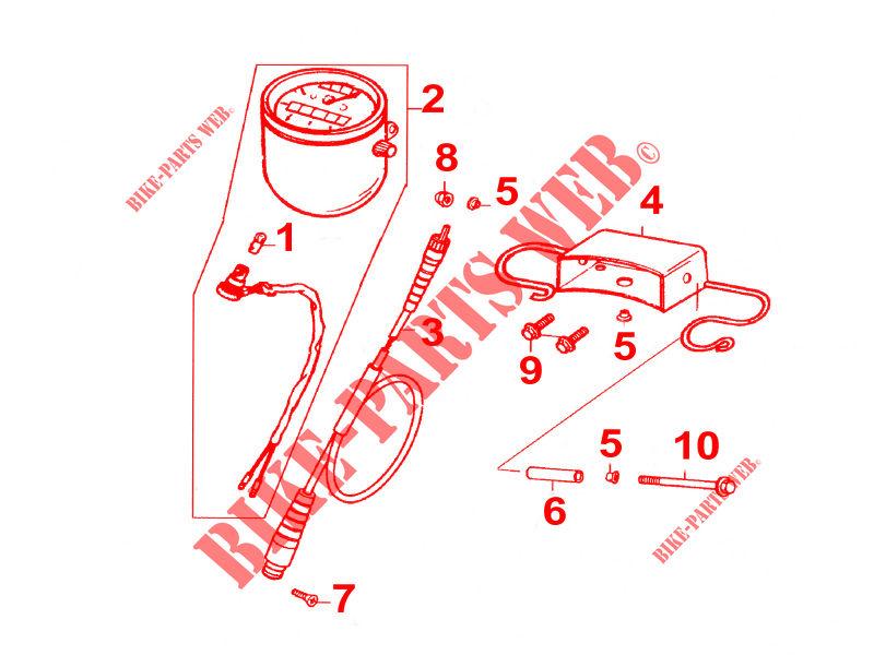 CYLINDER HEAD / CYLINDER for Kymco ZING II 125 4T EURO III