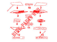 STICKERS ZX 12 50 2T EURO I SUPER FEVER 50 kymco-motorcycle ZX ZX 12 50 2T EURO I SUPER FEVER 2