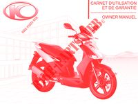 OWNER'S MANUAL AGILITY CITY 50 4T EURO II 50 kymco-motorcycle AGILITY AGILITY CITY 50 4T EURO II 0