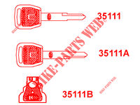 MASTER KEY XCITING 400I ABS 4T EURO III 400 kymco-motorcycle XCITING XCITING 400I ABS 4T EURO III 25