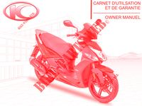 OWNER'S MANUAL for Kymco AGILITY CITY 125l 16x 4T EURO 4