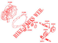 TRANSMISSION for Kymco AGILITY CITY 125l 16x 4T EURO 4