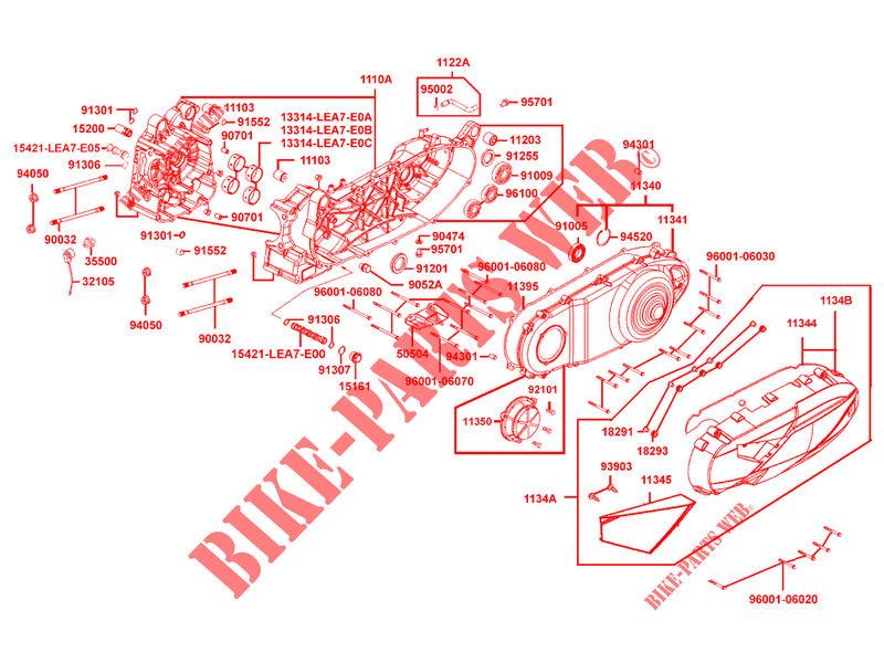 Kymco Engine Diagram - Wiring Diagram Database