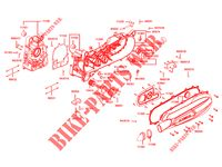 ENGINE CASINGS for Kymco DOWNTOWN125 I ABS EXCLUSIVE EURO 4