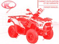 OWNER'S MANUAL for Kymco MXU 700I IRS 4T EURO 4