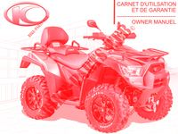 OWNER'S MANUAL for Kymco MXU 700I EX EPS IRS 4T EURO 4