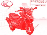 OWNER'S MANUAL for Kymco AK550 4T EURO 4