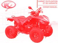 OWNER'S MANUAL for Kymco MAXXER 450I SE IRS EURO 4