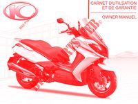 OWNER'S MANUAL for Kymco DOWNTOWN 125 I ABS EXCLUSIVE EURO 3