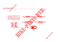 STICKERS for Kymco CK PULSAR 125 4T EURO II