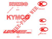 STICKERS for Kymco KYMCO UXV 450I 4T EURO 4