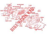 ENGINE CASINGS for Kymco XTOWN 300I ABS EURO 4