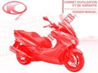 OWNER S MANUAL for Kymco XTOWN 300I ABS EURO 4