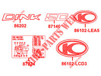 ELECTRICAL EQUIPMENT DINK 50 4T EURO II  50 DINK 50 4T EURO II