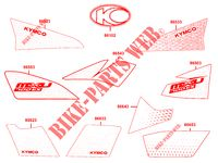 STICKERS for Kymco MXU 700I EX EPS IRS 4T T3B