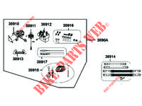 ACCESSORIES for Kymco MXU 550i IRS 4T T3B
