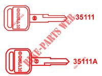 MASTER KEY for Kymco GRAND DINK 125 MMC 4T EURO III