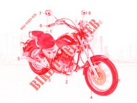 MAINTENANCE PARTS for Kymco HIPSTER 125 4V 4T EURO II