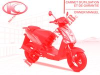 OWNER'S MANUAL AGILITY 50 12 4T EURO II 50 kymco-motorcycle AGILITY AGILITY 50 12 4T EURO II 0
