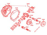 TRANSMISSION for Kymco LIKE 125 4T EURO III