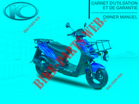 MANUAL for Kymco AGILITY 50 CARRY 4T EURO II