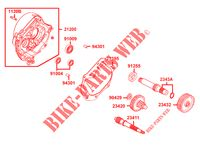 TRANSMISSION for Kymco AGILITY 50 CARRY 4T EURO II