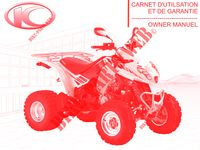 OWNER'S MANUAL for Kymco MAXXER 300 US 4T EURO II