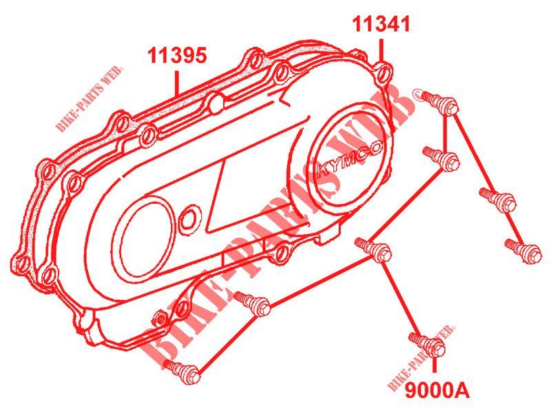 engine casings for kymco mxu 50 2t euro ii kymco online genuine Kymco Maxxer 450I Engine Diagram