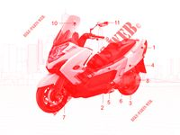 MAINTENANCE PARTS MY ROAD 700I 4T EURO III 700 kymco-motorcycle MY MY ROAD 700I 4T EURO III 1