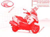 OWNER'S MANUAL MY ROAD 700I 4T EURO III 700 kymco-motorcycle MY MY ROAD 700I 4T EURO III 0