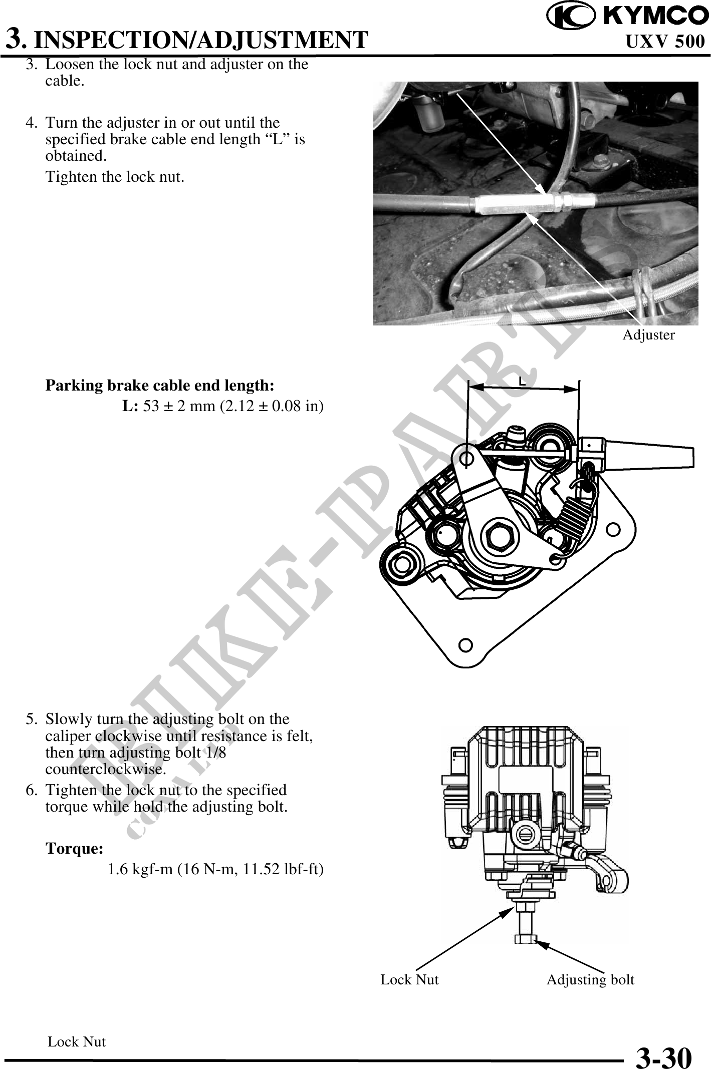 uxv 500 Workshop-manual : Page 98